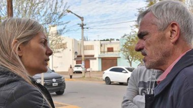 Papaiani habló de su denuncia con el titular del Superior, Mario Vivas.