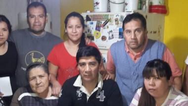 La familia Ruminahuel Antieco, agradecida con Santa Cruz.
