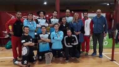 La Escuela Madrynense de Vóley se consagró campeón en Viedma.