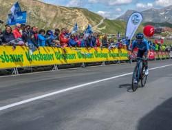 El clasificador general del Tour de Austria que tuvo al chubutense como uno de sus protagonistas.