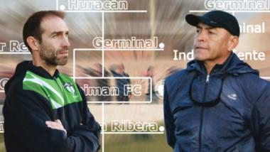 Walter Dencor y Oscar Viegas, los cerebros estratégicos de Germinal y Gaiman FC, brindaron sus pareceres sobre la serie decisiva del torneo.
