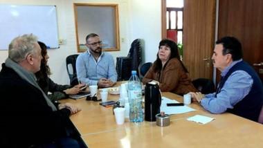 La reunión de la Federación de Cooperativas con dipuitados y el ENRE.