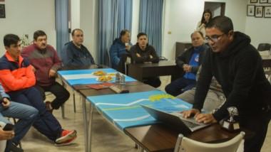 La capacitación estuvo brindada por Gerardo Albornoz, un especialista en la materia a nivel nacional.