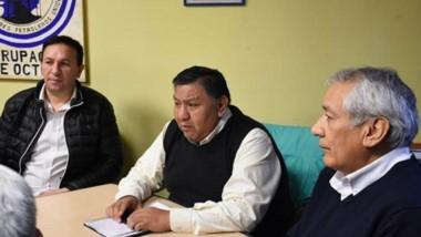 """Trío. Desde la izquierda, Maderna, """"Loma"""" Ávila y Béliz coincidieron en sus propuesta para el Congreso."""