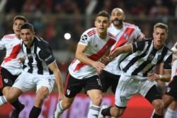 En un duro partido los dirigidos por Gallardo se pusieron en ventaja con gol de Palacios pero rápidamente Vera empató el cotejo.