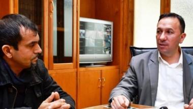 Dúo. Ávila se reunió ayer con el intendente y definió su incorporación.
