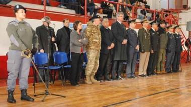 Durante el acto se recordó a personal caído en cumplimiento del deber y se entregaron  distinciones.