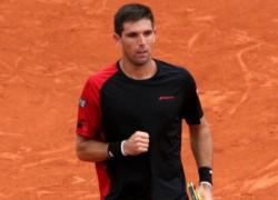 Fede Delbonis superó al uruguayo Pablo Cuevas (3º preclasificado) por doble 6-4.