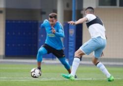 Boca y Atlético Tucumán jugaron dos partidos en el predio de Ezeiza.