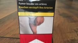 Un albanés amputado de una pierna tras un tiroteo se quedó estupefacto al descubrir una foto de su pierna en paquetes de cigarrillos.