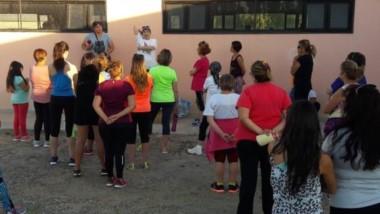La Escuela Municipal de Atletismo tiene actividad diaria en Rawson.