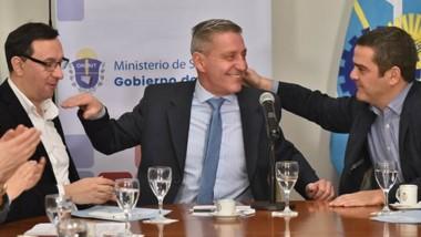 Saludos. El gobernador destacó el trabajo con los municipios.