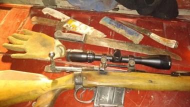 Policía consideró positivos a los resultados por el secuestros de armas y municiones.