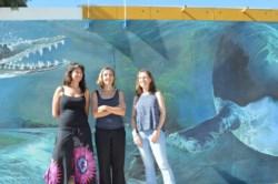 Ana Liberoff, Silvia Flaherty y  Natalia Pessacg, tres de las investigadoras del proyecto