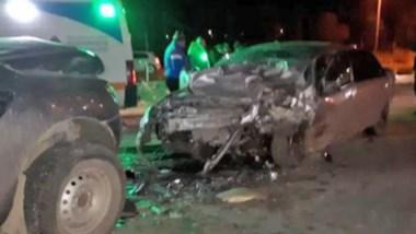 El trágico accidente sucedió el sábado pasado en el Km 14 entre un Chevrolet Corsa y una Ford Ranger.