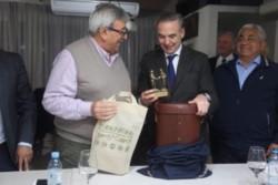 Pichetto se reunió hoy con Ramón Ayala de UATRE y miembros de las 62 organizaciones.