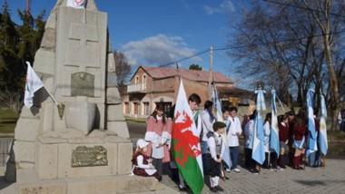 El acto  oficial se realizará el domingo  a las 15 hs. organizado por la municipalidad y la Asociación Galesa.