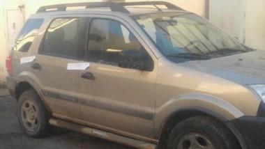 Policía pudo localizar el rodado y a los ladrones que la conducían.