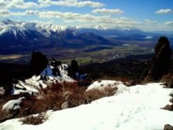La familia se encuentra aislada en el Cerro La Momia, a 30 kilómetros de Cholila