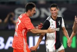 Gianluigi Buffon atajó tres penales en el triunfo de Juventus.