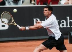 Con la derrota de Federico Delbonis, Hamburgo, último gran torneo de la temporada sobre polvo de ladrillo, se quedó sin argentinos.