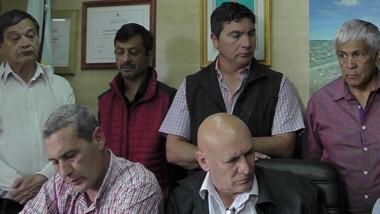 Los intendentes de la comarca preocupados por los servicios y las obras públicas.