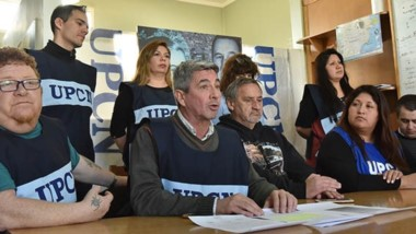 En la conferencia de presan los gremialistas se mostraron indignados con la nota del Ministerio.