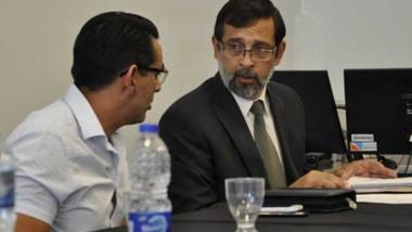 El fiscal capitalino, Fernando Rivarola ayer  en el juicio abreviado.