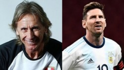 Ricardo Gareca habló de Messi y descartó sus chances de dirigir a la Selección Argentina.