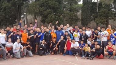Bajo la coordinación del múltiple campeón mundial Omar Narváez, dos jóvenes chubutenses participaron del Campus de Entrenamiento.