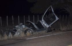 El siniestro vehicular ocurrió anoche en la ruta que va hacia la villa del Lago Futalaufquen.