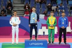 Lucas Guzmán le dio una gran alegría a todo el taekwondo argentino al vencer en un final para el infarto al mexicano Brandon Plaza por 19-17.