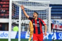 El delantero de San Lorenzo está siendo relegado por Pizzi y hoy se hizo cargo de un penal cargado de responsabilidad.