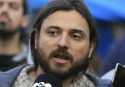 Juan Grabois visitó el piso de La Cornisa en América.