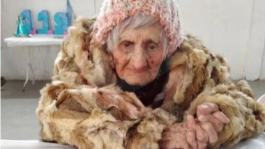 Natalia Reynoso cumplió 119 años.