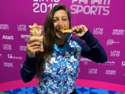 Con la lograda por Eugenia De Armas en wakeboard, Argentina iguala en cantidad de doradas a Brasil y Colombia en el medallero de Lima  2019 con 7.