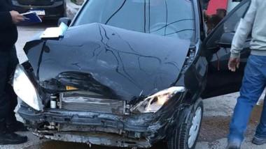 La colisión sucedió ayer a la tarde en la esquina de Alem y Carrasco.