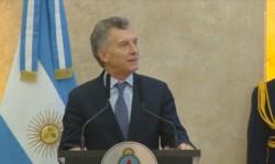 Macri en la Cena de Camaradería de las Fuerzas Armadas: