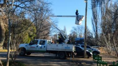 Convocados por la Cooperativa, los vecinos plantearon la necesidad de más luminarias.