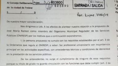Desde la entidad afirman que Ramón tiene causas penales en curso.