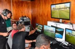 El VAR se prueba en cancha de Colón antes de jugar por la Sudamericana.