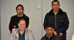 Natalia Soledad Schreider junto a su esposo. La mujer fue condenada por matar a su bebé de 15 meses. (El diario de La Pampa)