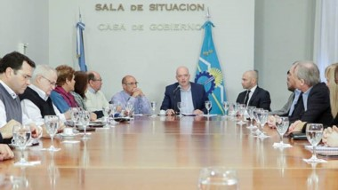 Sala de Situación. Ayer en Casa de Gobierno se presentó en sociedad el Consejo Provincial de obras sociales y prepagas que se pondrá en marcha.