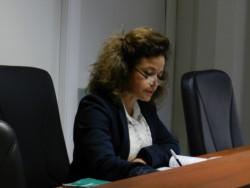 Jueza Penal Marcela Pérez
