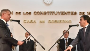 Meiszner, exfuncionario kirchnerista. Estuvo en el RENAR, con Aníbal Fernández como ministro de Justicia.