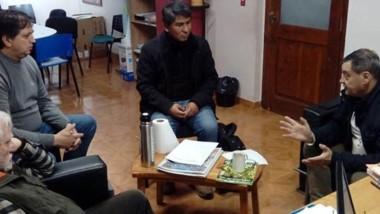 Intendente Raúl Ibarra recibió a funcionarios del IPA.