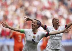 Con goles de Megan Rapinoe y Rose Lavelle, Estados Unidos venció obtuvo el tetracampeonato del Mundial Femenino.