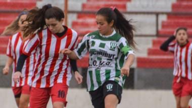 Germinal doblegó por 4-0 a Racing Academia en el Cayetano Castro y lidera la Zona Repechaje del torneo Anual femenino liguista.