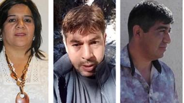 Postulantes. Desde la izquierda, Aburto, Garrido, Millananco y Reato, frente a una nueva instancia electoral que decidirán los vecinos.