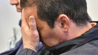 Dolor de cabeza. Una postal de Correa durante una de las audiencias.